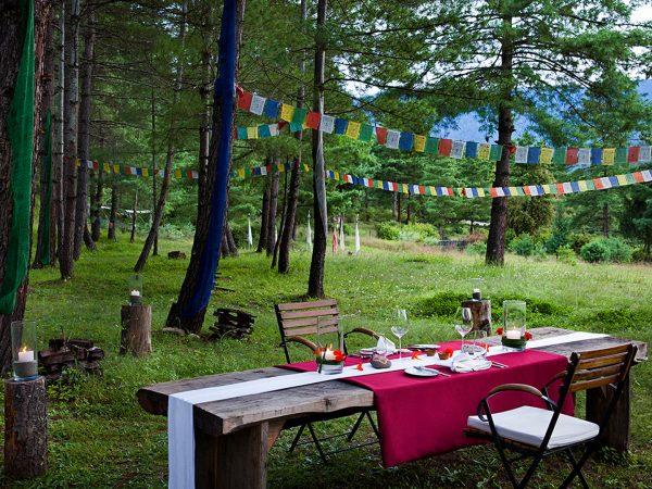 COMO Uma Punakha Private dining