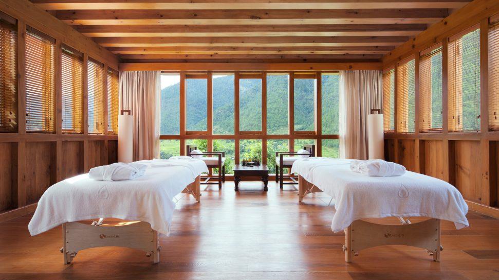COMO Uma Punakha Spa Room