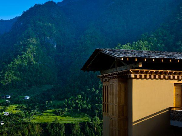 COMO Uma Punakha Valley View Room Exterior