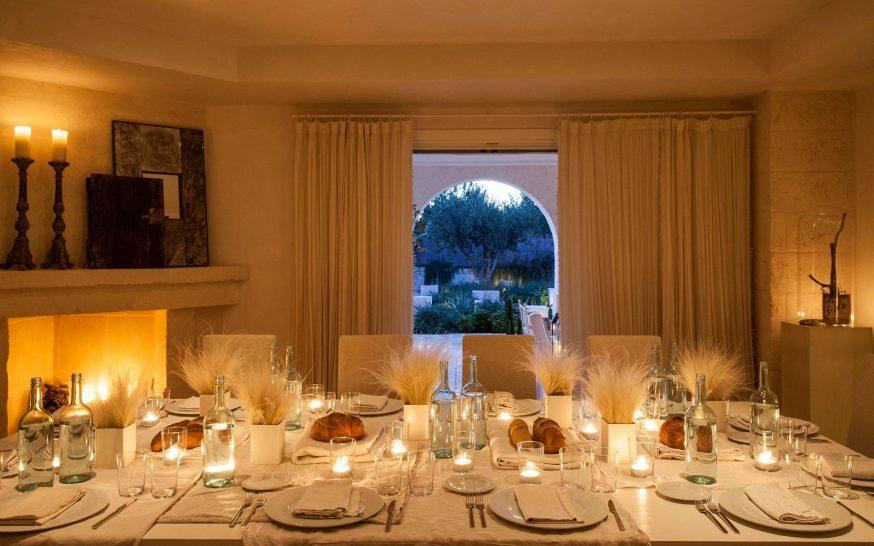 Borgo Egnazia Villa Padronale dining
