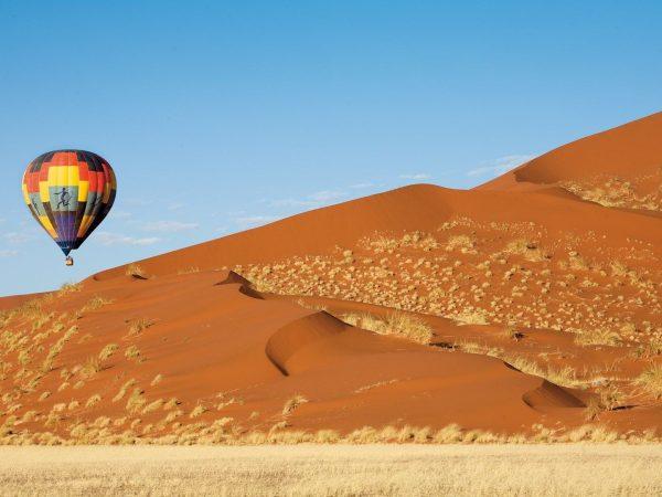 AndBeyond Sossusvlei Desert Lodge Balloon Safari