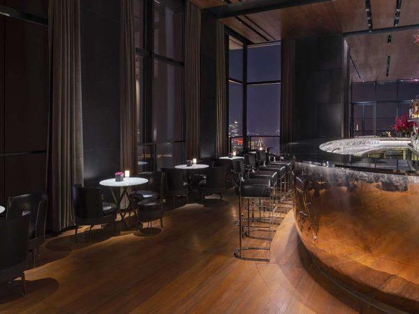 Bvlgari hotel shanghai bar