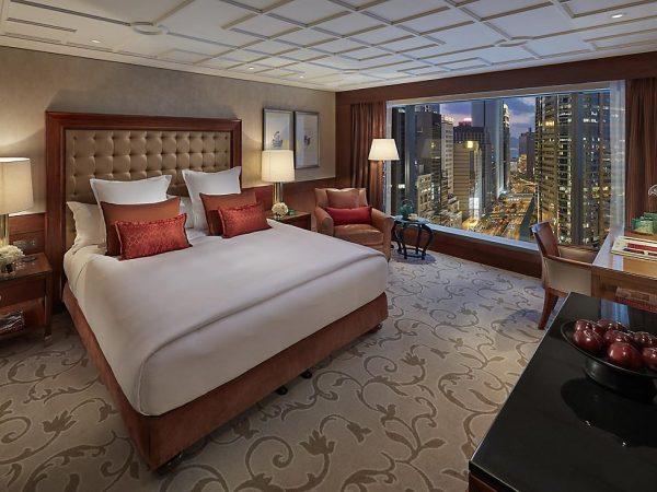 mandarin oriental Hong Kong city view room