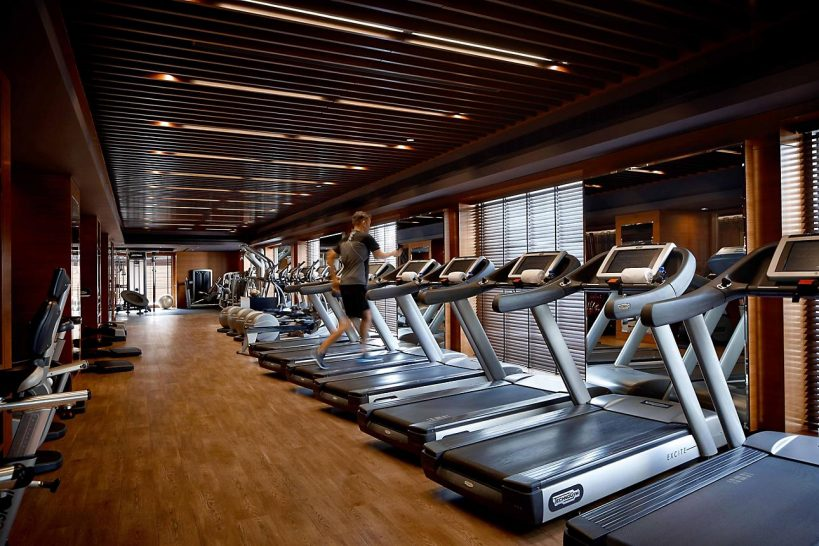 mandarin oriental Hong Kong gym