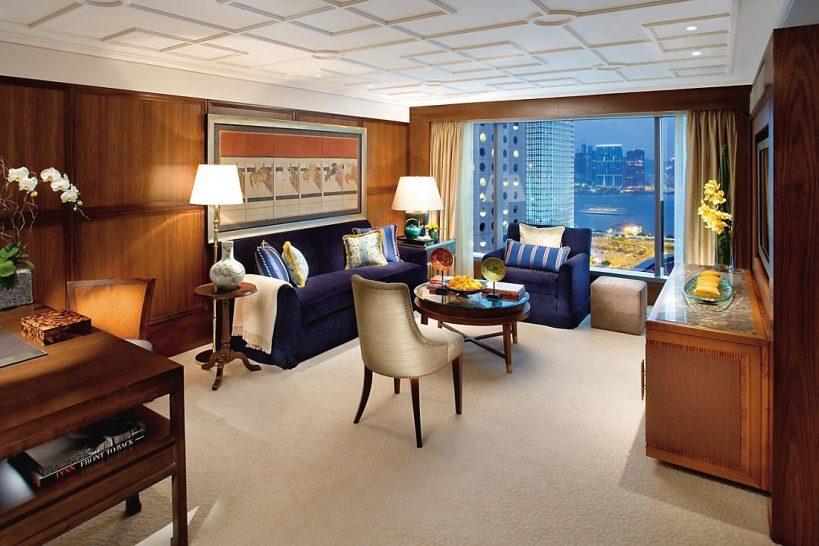mandarin oriental Hong Kong howarth suite