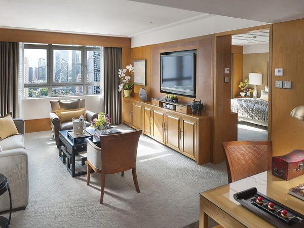 mandarin oriental Hong Kong junior suite