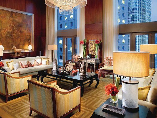 mandarin oriental Hong Kong mandarin suite