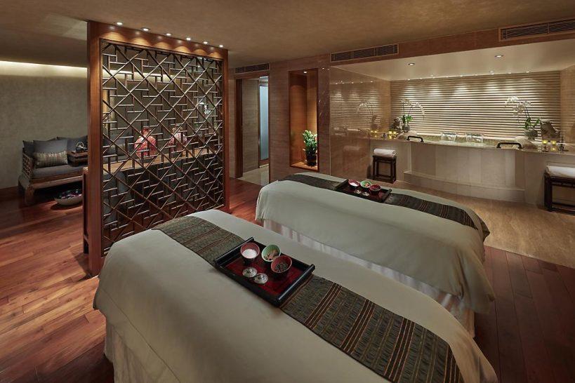 mandarin oriental Hong Kong spa suite