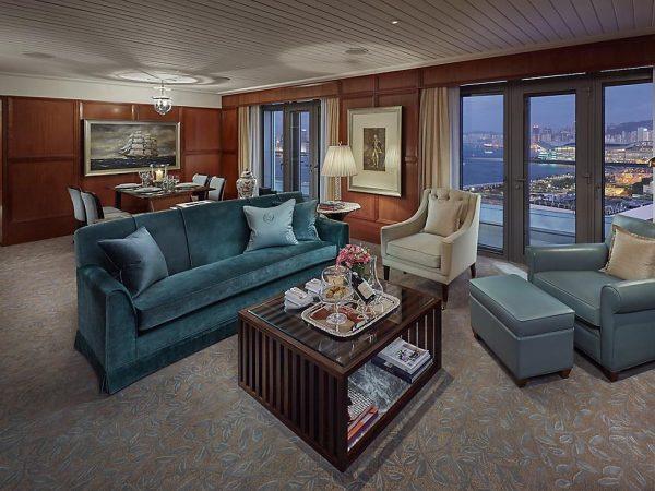 mandarin oriental Hong Kong tamar suite