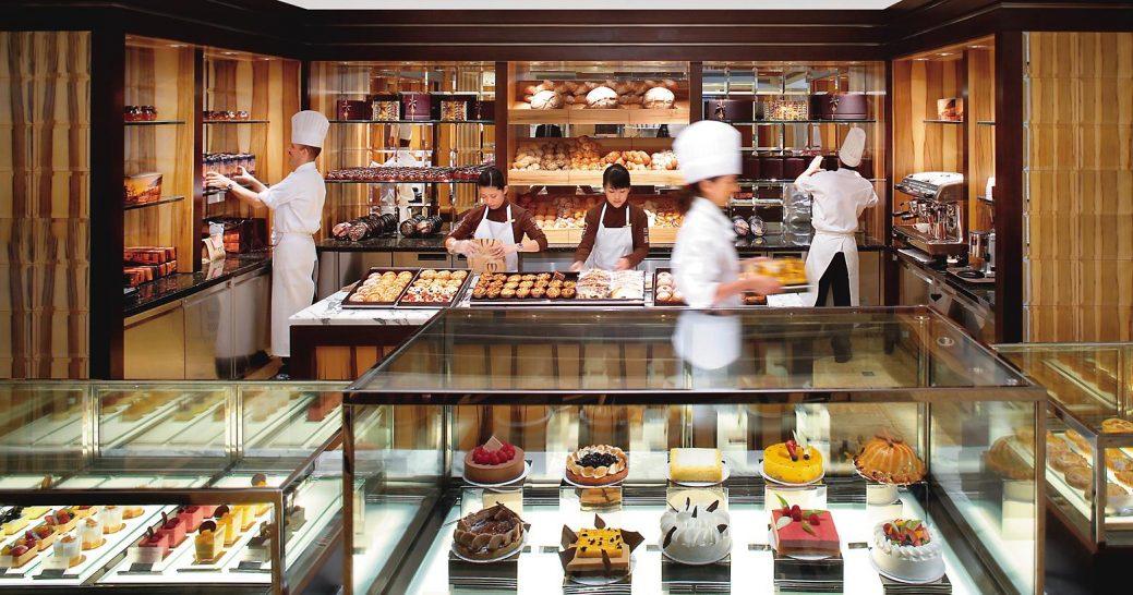 mandarin oriental Hong Kong the mandarin cake shop
