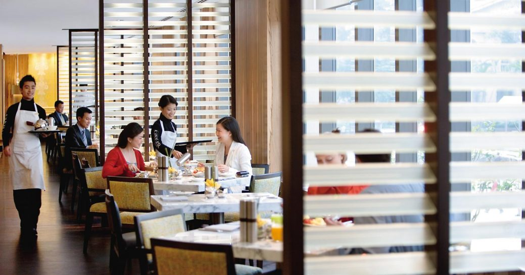 mandarin oriental Hong kong cafe causette