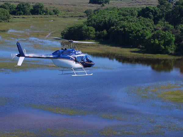 sanctuary Baines camp Scenic flight
