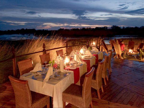 sanctuary Baines camp restaurant