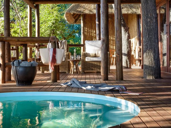 sanctuary Chief's Camp spa