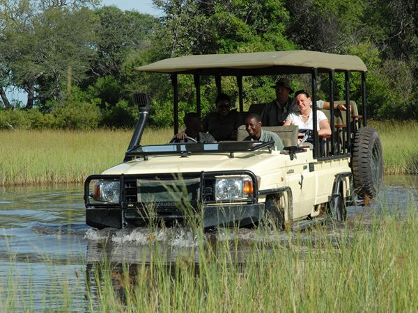 sanctuary baines camp game Drive