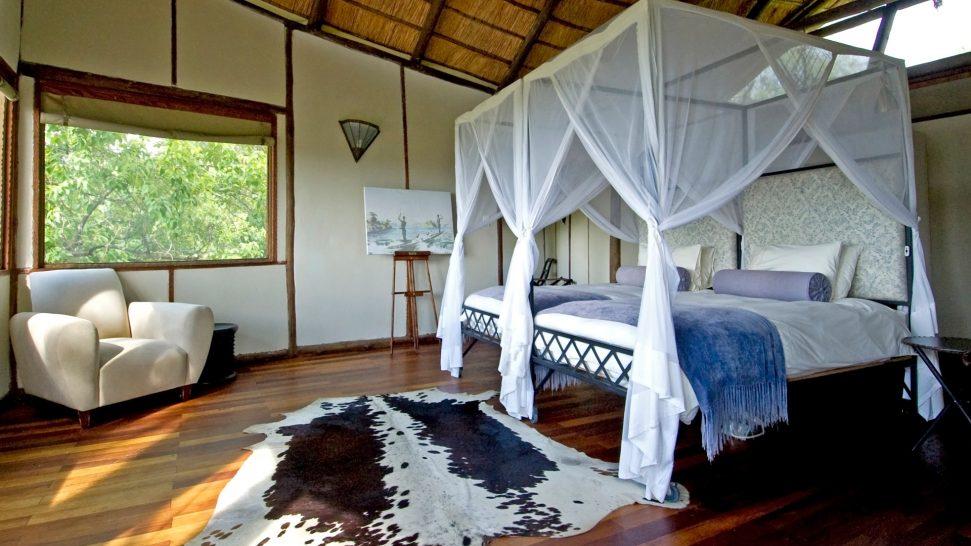 sanctuary baines camp room interior