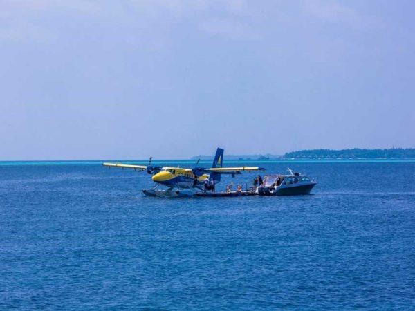 Amilla Fushi Maldives Seaplane