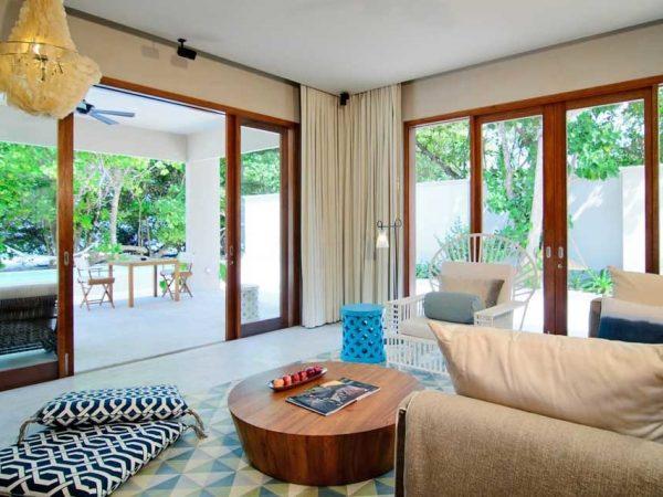 Amilla Fushi Maldives Beach House Lounge
