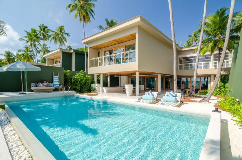 Amilla Fushi 4 Bedroom Residence Pool