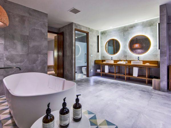 Amilla Fushi Beach House Bathroom