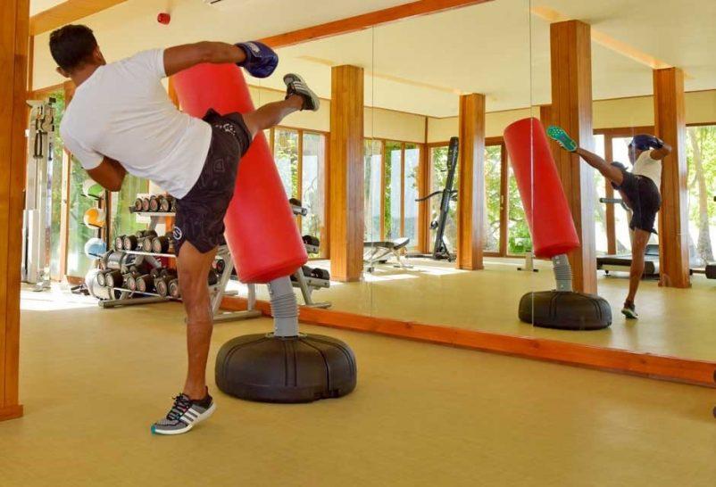 Amilla Fushi Maldives gym