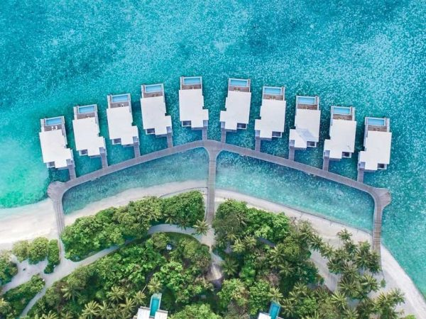 Amilla Fushi Maldives Aerial