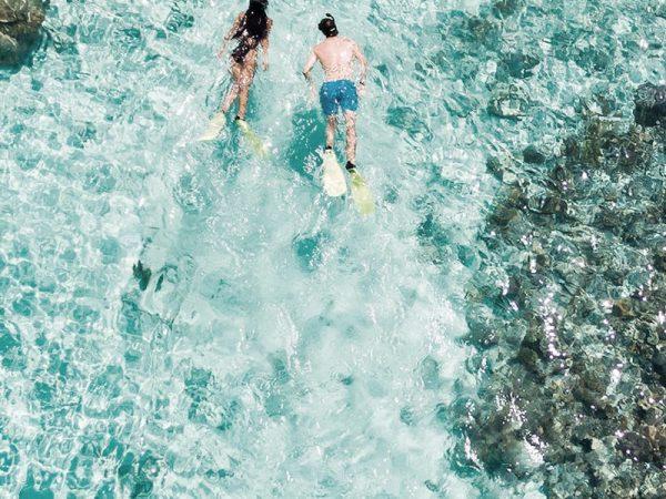 Amilla Fushi Maldives snorkeling