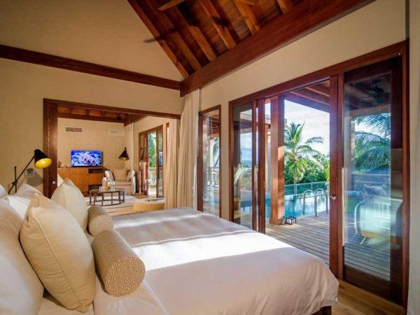 Amilla Fushi Maldives Tree House Bedroom