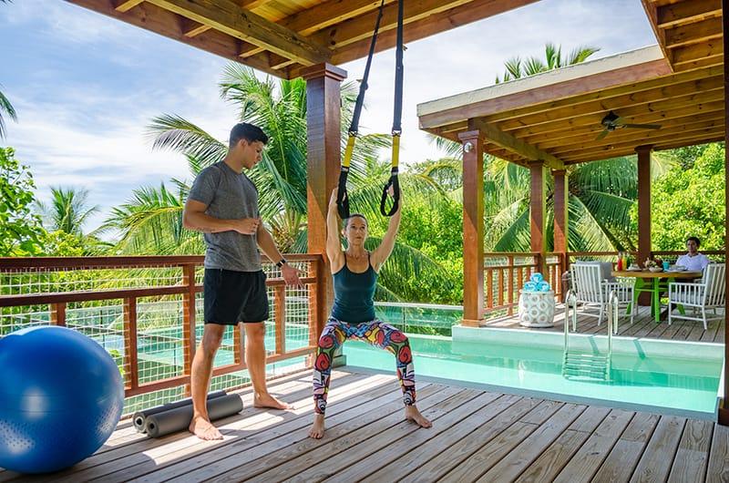 Amilla Fushi Maldives Yoga