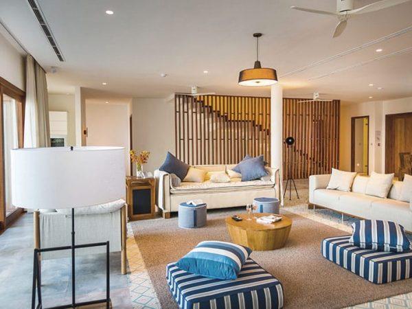 Amilla Fushi Maldives VIlla Living Room