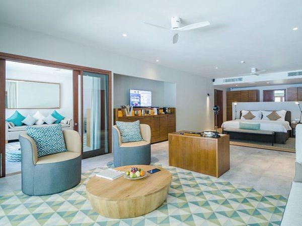 Amilla Fushi Maldives Villa Bedroom