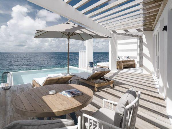 Amilla Fushi Maldives Lagoon Villa Deck
