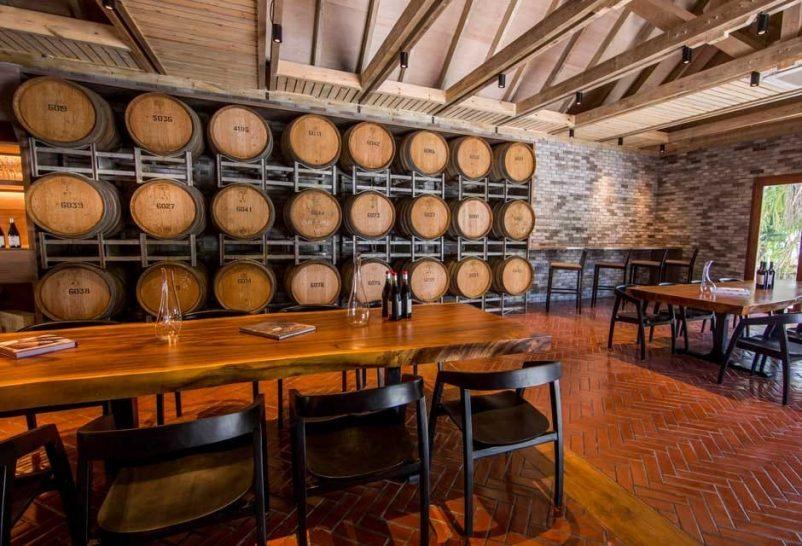 Amilla Fushi Maldives Wine cellar