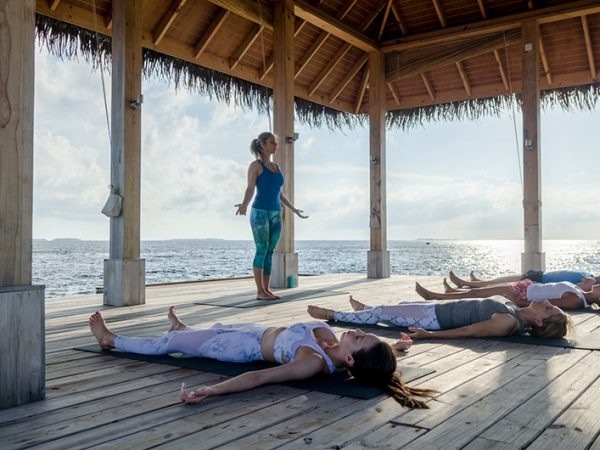 Amilla Fushi Maldives Yoga Shots