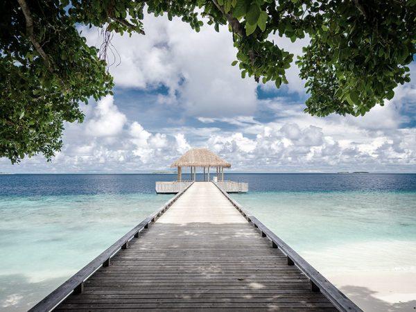Amilla Fushi Maldives yoga pavilion