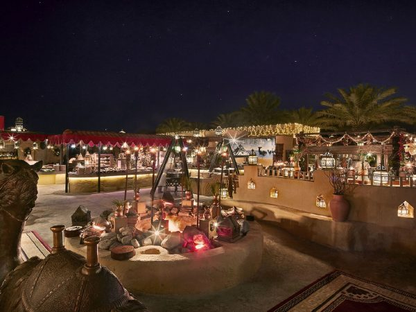 Bab Al Shams Al Hadheerah Buffet Area