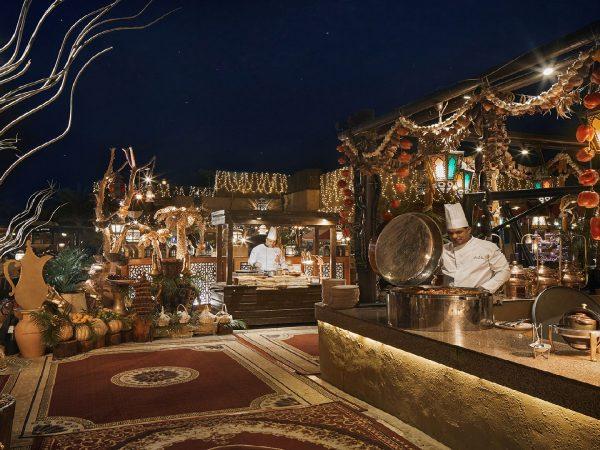 Bab Al Shams Al Hadheerah Live Cooking Station