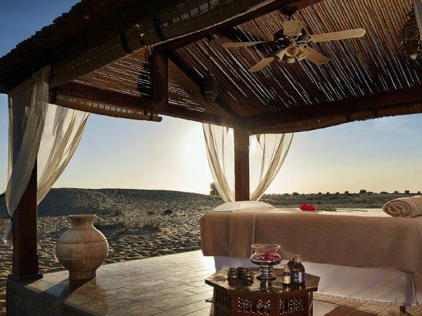Bab Al Shams Cabana spa treatment