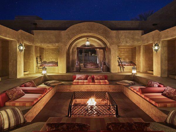 Bab Al Shams Fire Pet Area
