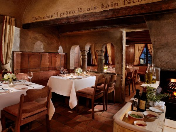 Badrutts Palace Hotel Chesa Veglia Grill Chadaf