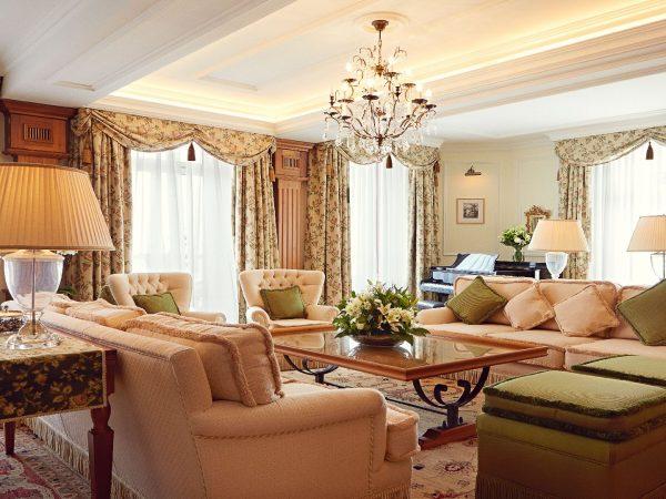 Badrutts Palace Hotel Hans Badrutt Suite Living Room