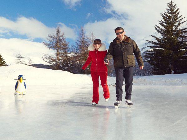 Badrutts Palace Hotel Ice Rink