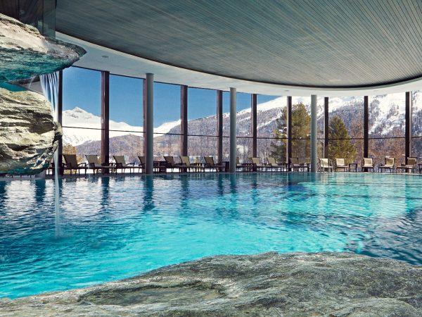 Badrutts Palace Hotel Indoor Pool Winter