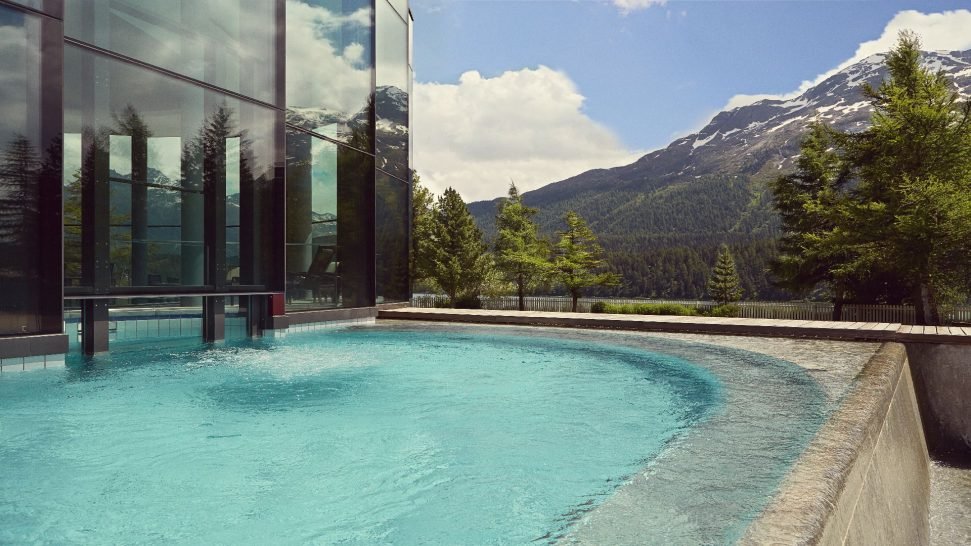 Badrutts Palace Hotel Outdoor Pool