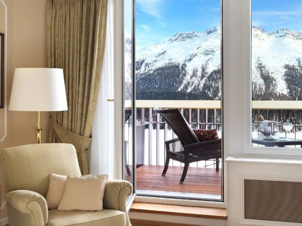 Badrutts Palace Hotel Palace Suite Terrace