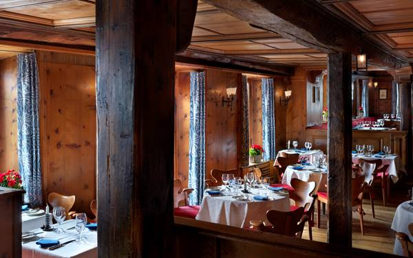 Badrutts Palace Hotel Patrizier Stuben