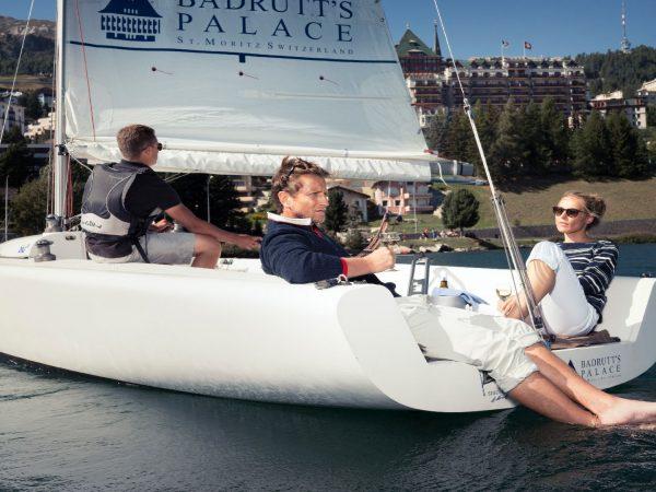 Badrutts Palace Hotel Saling Boat