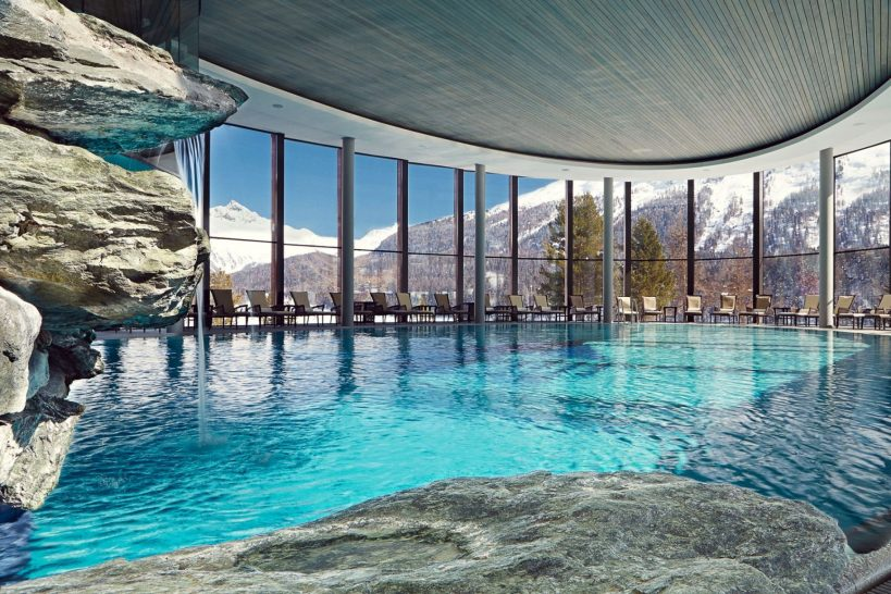 Badrutts Palace Hotel St Moritz Spa Pool