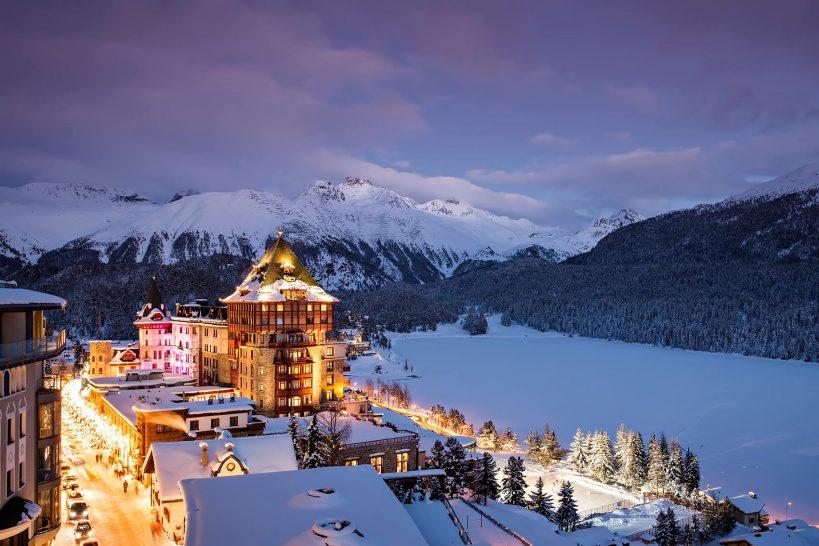Badrutts Palace Hotel St Moritz Winter