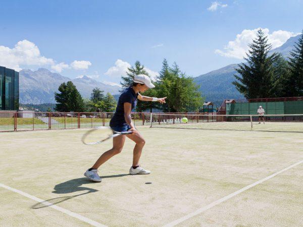 Badrutts Palace Hotel Tennis